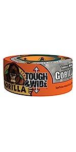 Gorilla Tough & Wide Tape Silver