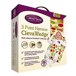 Clevamama ClevaWedge Cojín Anticólicos Bebés - Cojín ...