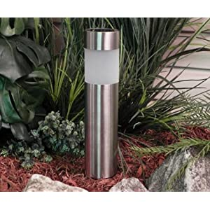 Amazon Com Paradise By Sterno Home Stainless Steel Solar