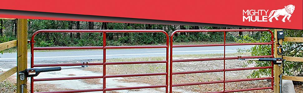 Mighty Mule Mm262 Automatic Gate Opener For Light Duty