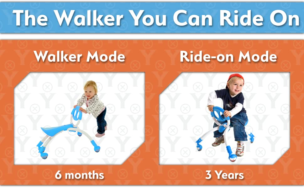 The walker you can ride on
