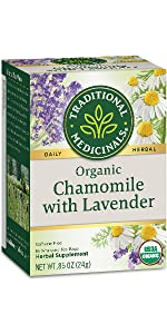 Traditional Medicinals Organic Chamomile with Lavender Herbal Tea