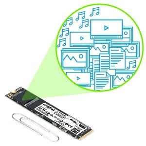 Crucial CT500P1SSD8 - Disco Duro sólido Interno SSD de 500 GB (3D ...