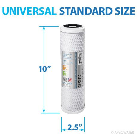 Amazon Com Apec Filter Set Us Made Double Capacity