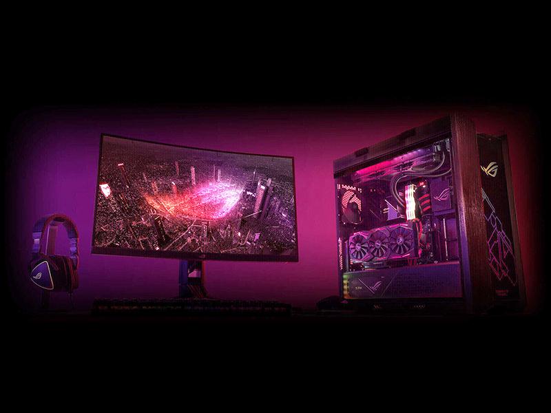 Asus trx40 Republic of gamers rog ryzen aura sync wifi 6 update top