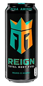 reign total body fuel mang-o-matic fitness and performance drink pre workout