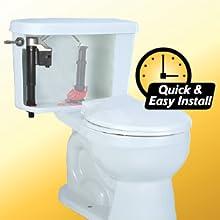 Korky 528mp Quietfill Platinum Toilet Fill Valve Fits