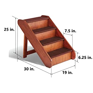pet steps for medium dogs pet steps for small dogs step for dog pet stairs for small dogs wood stair