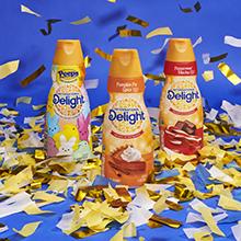 International Delights, flavored creamer, coffee creamer, coffee maker, coffee mate, coffee cups
