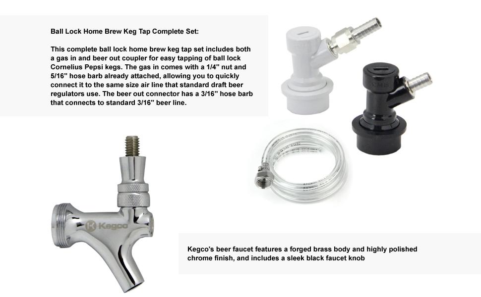 Homebrew Kegerator Conversion Kit