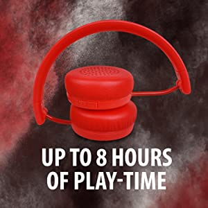 8 hours of playback time