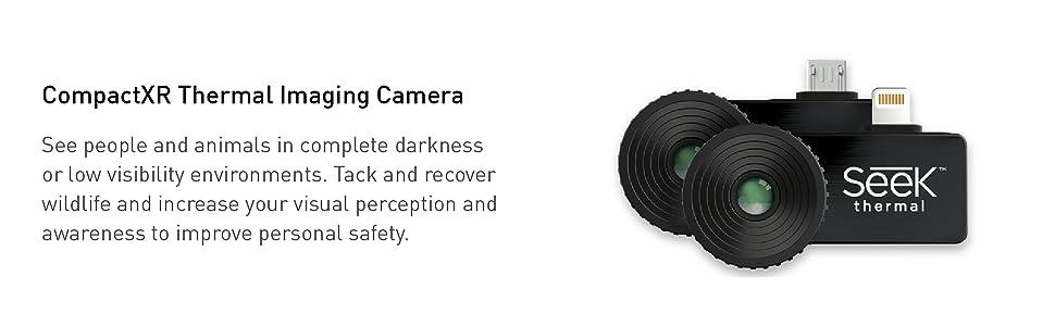 Seek Thermal, CompactXR, thermal imaging camera, thermal imaging, outdoor, iOS, android, Seek, Apple