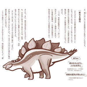 ◆アフター『ステゴサウルス』