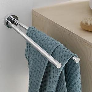 Ronde accessoires serie toiletborstelgarnituur dubbele haak handdoekhouder zeepdispenser glashouder