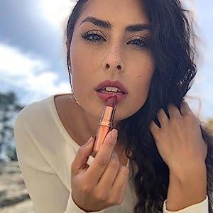 mineral fusion lip stick, natural cosmetics