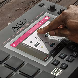 Akai Professional MPC Live | Ultra-Portable Fully Standalone MPC With  7-Inch Multi Touch Display, 16GB On-Board Storage, Rechargeable Battery,  Full