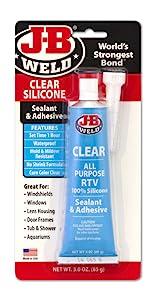 J-B Weld Clear Silicone