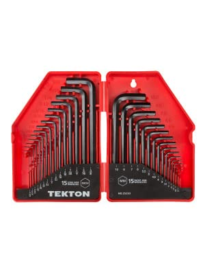"""H.D Hunter Smitty IP3 Fold Up Hex Allen Key Wrench Set 5 Sizes 5//32 to 1//4/"""" USA"""