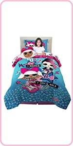 LOL Surprise Kids bedding, kids bathroom, bath and beach accessories, lol doll, l.o.l. surprise!