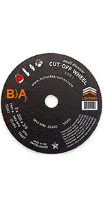 Small Diameter Cut-Off Wheel