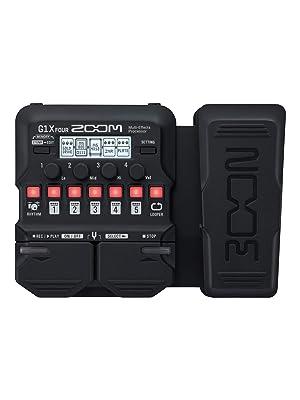 Zoom G1X - Pedal de guitarra de cuatro efectos