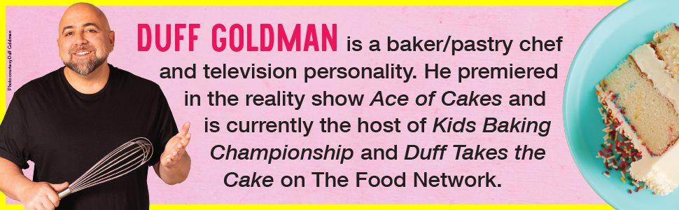 Duff Goldman, baking, cooking, kids, food network, tv