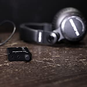 Ampli casque ultraportable avec batterie et 2 niveaux de Boost