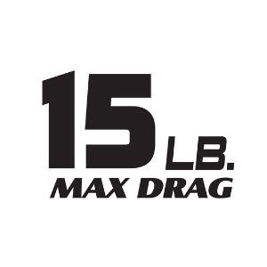 15 Pound Max Drag