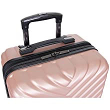 kenneth cole reaction luggage travel new york packing suitcase women girl chevron stylish designer