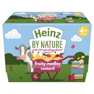 Heinz Infant Fruit Medley Custard