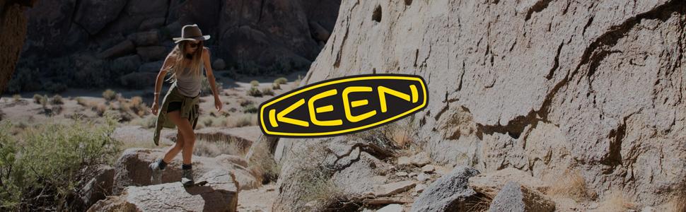KEEN womens hiker hiking targhee 2 ii waterproof shoe header