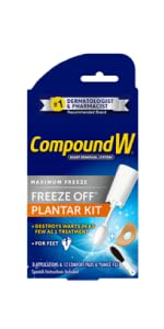 Compound W Freeze Off Plantar Wart Removal