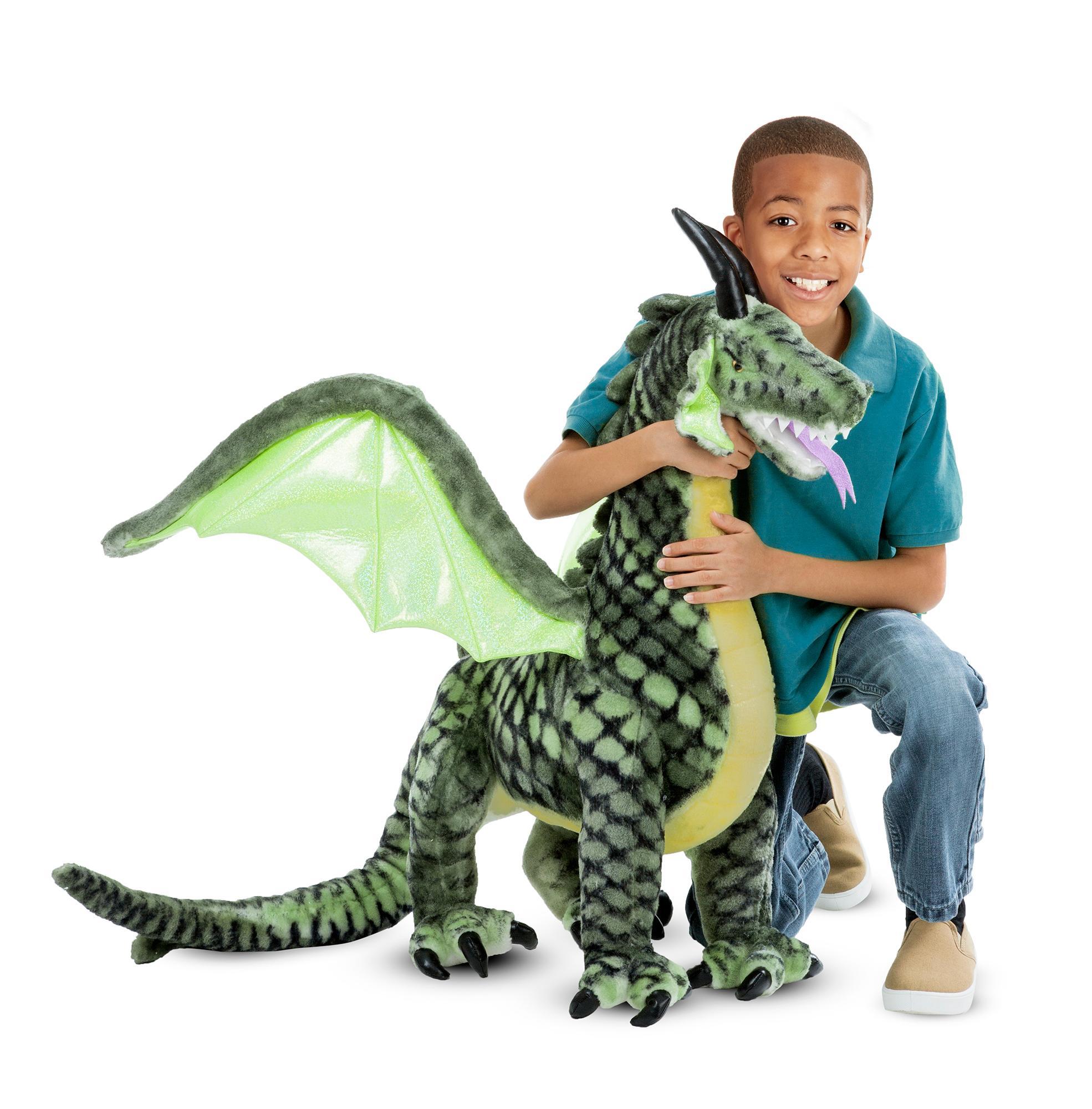 Amazon Melissa & Doug Giant Shark Lifelike Stuffed Animal