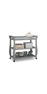delta children changing table baby nursery furniture infant