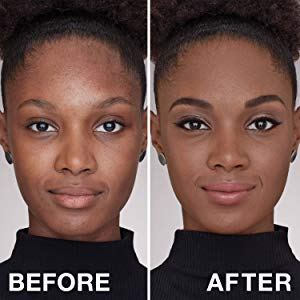 Maybelline Superstay 24Hr Full Coverage Liquid Foundation before and after