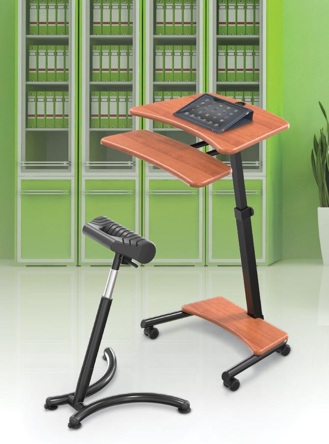 Balt Up Rite Workstation Sit Stand Desk Height Adjustable