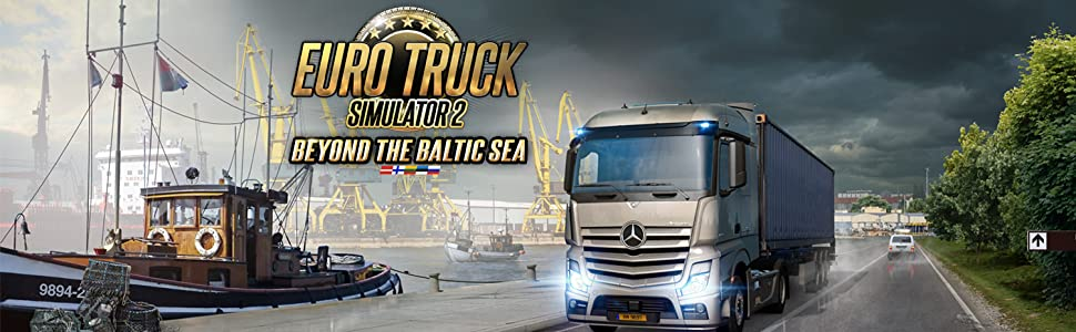 euro truck simulator 2 beyond the baltic sea dlc pc. Black Bedroom Furniture Sets. Home Design Ideas
