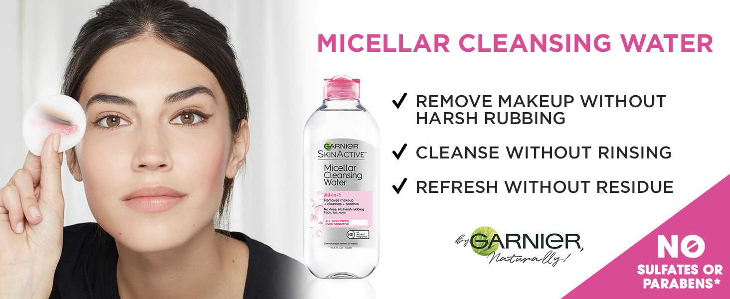 micellar water all skin types makeup remover