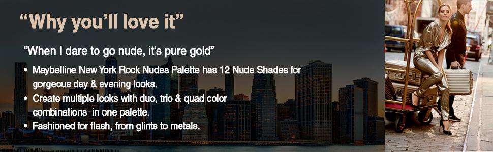 eyeshadow, nude, maybelline