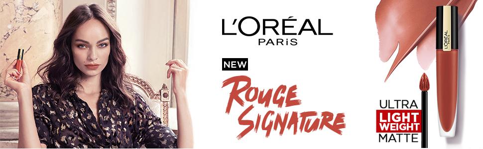 Rouge Signature Matte Lipstick , New lipsticks