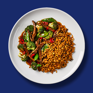 Stir Fry, Rice, Vegetables, Beef, Uncle Ben's, Recipe, Quick