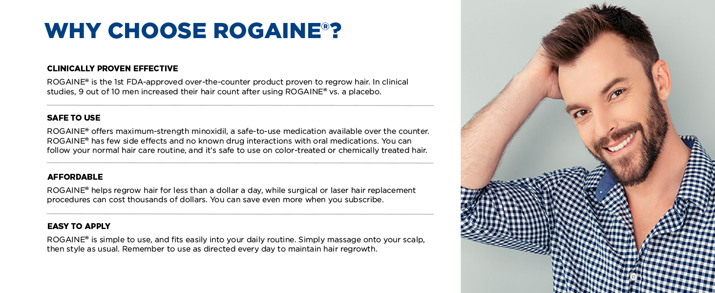 Why Choose Rogaine