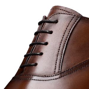 3e091265736 DESAI Leather Oxford Dress Shoes for Men Cap Toe Lace up