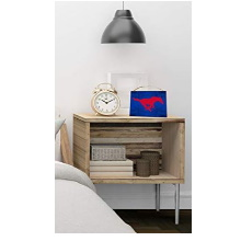 Southern Methodist Mustangs Colored Logo Collage Plaque