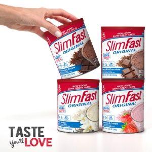powders slimfast smoothies