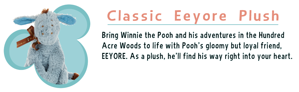 Classic Eeyore Plush