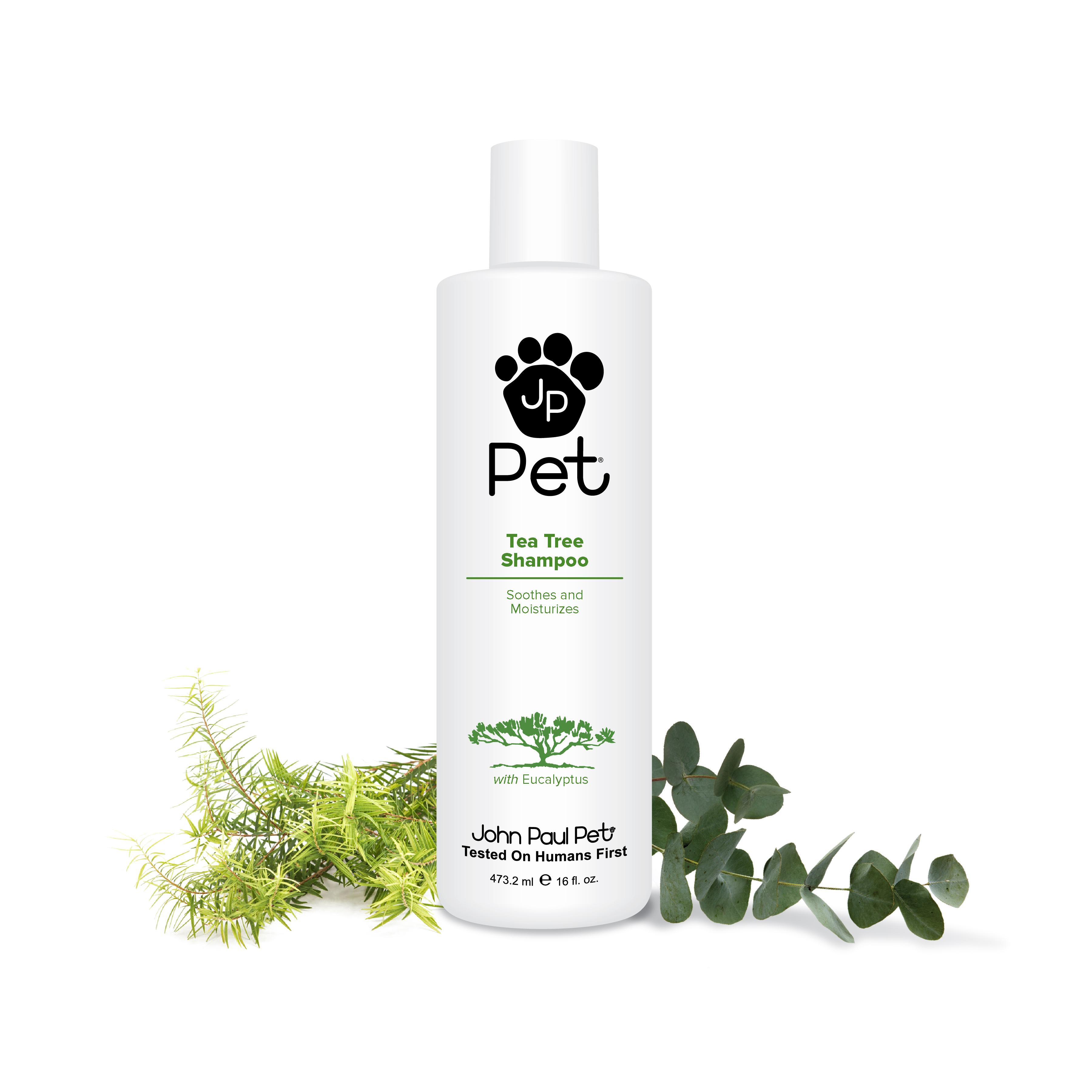 tea tree dog shampoo john paul pet australian tea tree and eucalyptus oil shampoo. Black Bedroom Furniture Sets. Home Design Ideas