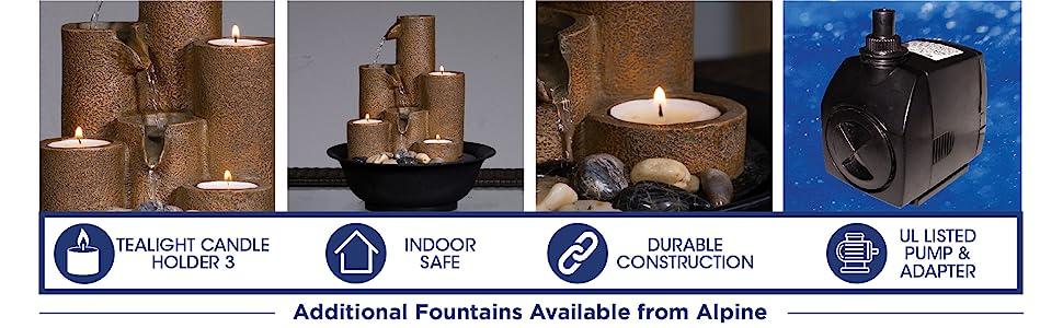 wct202, alpine, indoor fountain, pump
