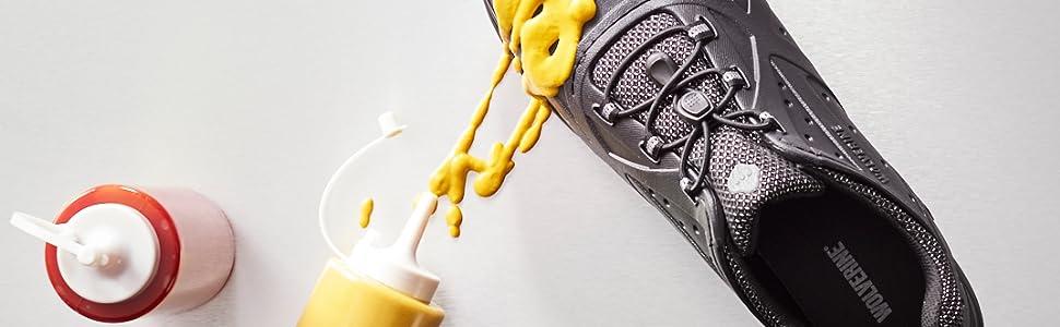 EZ Clean, Serve, SR, Slip-Resistant, Shoes, Serve