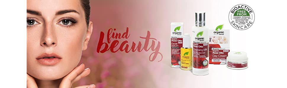 Organic Doctor Rose Otto - Find Beauty